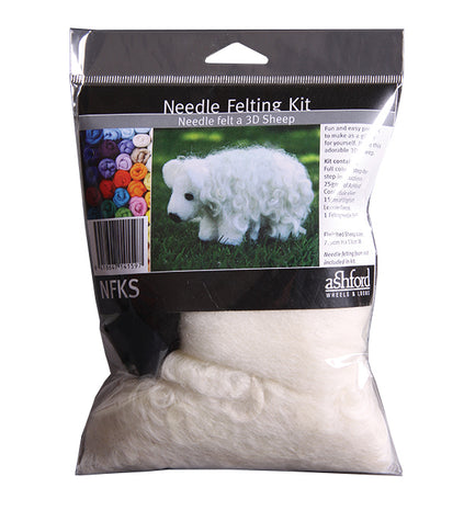 Ashford Needle Felting Kit - Sheep-Felting-Paradise Fibers