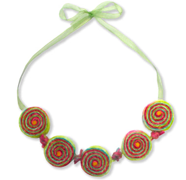 GillianGladrag Bonbon Bagatelle Felt Necklace Kit
