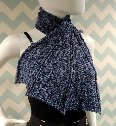 Dragon Wing Scarf Crochet Pattern-Patterns-Paradise Fibers