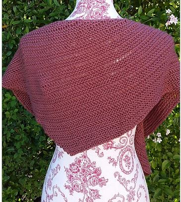 Drop Canyon Shawl Kit featuring Malabrigo Silky Merino-Kits-Paradise Fibers