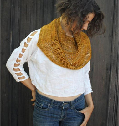 Harwick Shawl Pattern-Patterns-Paradise Fibers