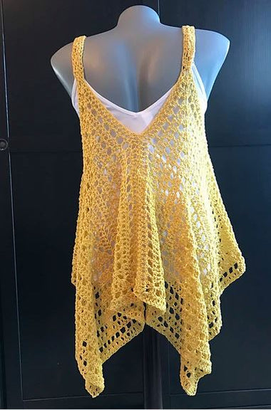 Kanata Kerchief Tank Pattern-Patterns-Paradise Fibers