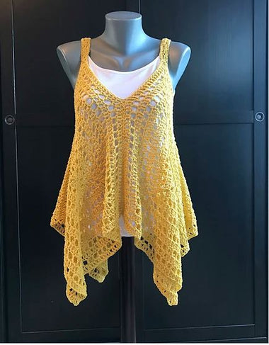 Kanata Kerchief Tank Kit featuring Uneek Cotton-Kits-Paradise Fibers