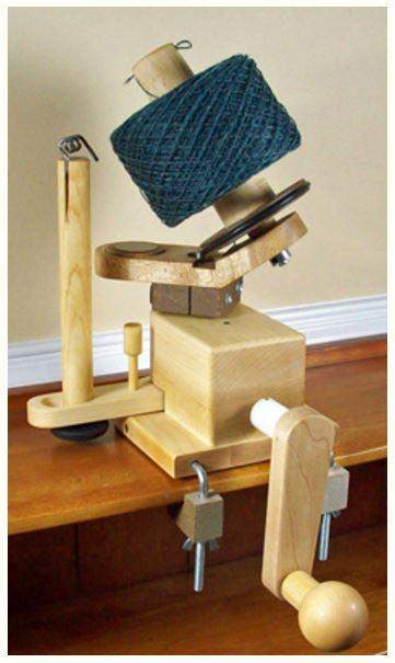 Nancy's Knit Knacks Heavy Duty Ball Winder-Knitting Accessory-Paradise Fibers