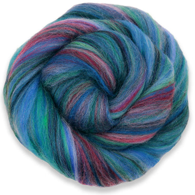 Paradise Fibers Multi-Colored Merino Wool Roving - Bermuda-Fiber-Paradise Fibers