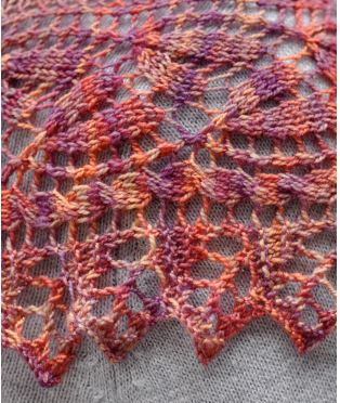 Regina Marie Shawl Pattern-Patterns-Paradise Fibers
