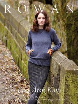 Rowan Easy Aran Knits Pattern Book