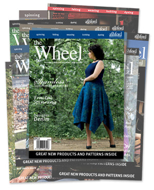 "Ashford ""The Wheel"" Magazine-Publications-Paradise Fibers"