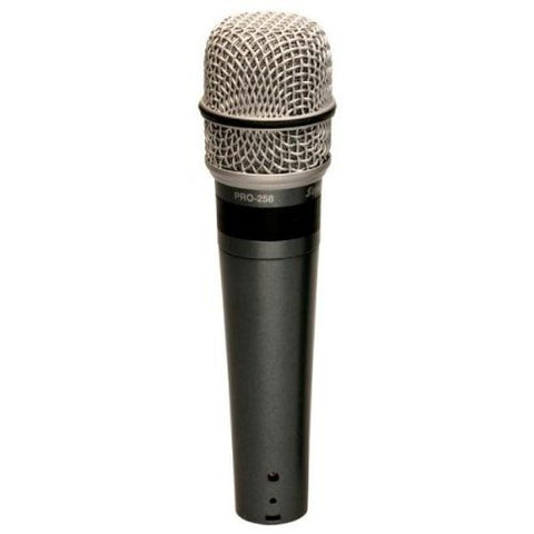 Superlux PRO-258 Professional Vocal Mic Series- Supercardioid dynamic microphone - 1to1 Music