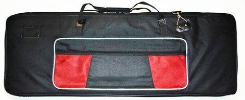 Reinforced Keyboard Bag - 76 Keys - Thick, Padded + Large Pockets, Strap + Handle - MEDIUM - 1to1 Music