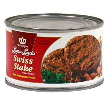 Swiss Steak w/Gravy (case of 12)-13 oz