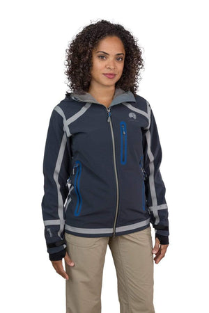 Cayambe - Womens Seam Taped Waterproof Hooded Soft Shell Jacket