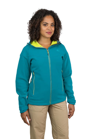 Misti - Womens Water Resistant, Wind Resistant Hooded Softshell Jacket