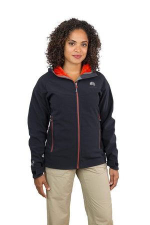 Qaras - Womens Waterproof Windproof Hooded Soft Shell Jacket