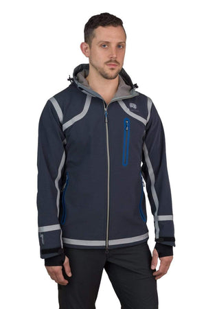 Cayambe - Mens Seam-Taped Waterproof Hooded SoftShell Jacket