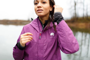 'Sapo' waterproof jacket, womens rain jacket