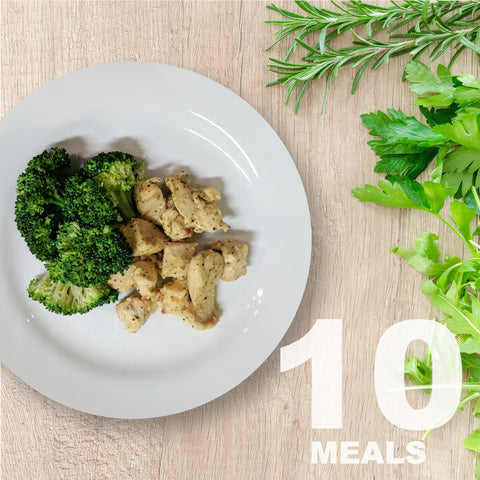 10 Meals Per Week With Protein & Vegetables | 5 day Plan |