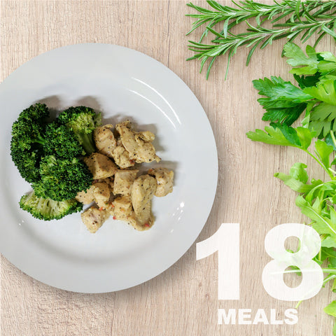 18 Meals Per Week With Protein & Vegetables | 6 day Plan