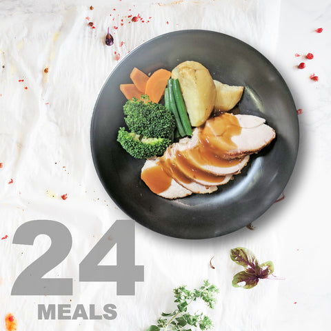 24 Meals Per Week With Protein, Carbs and Vegetables | 6 day Plan |