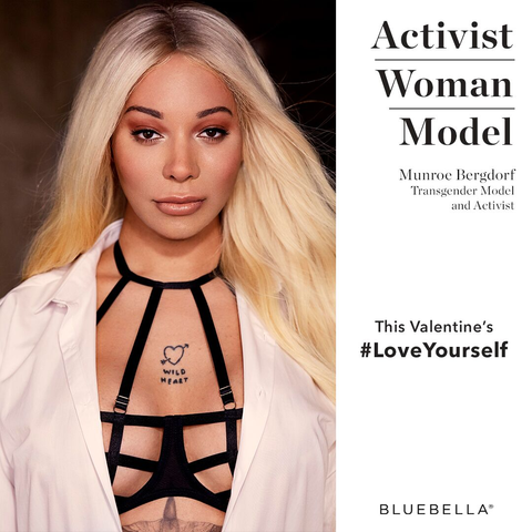 Munroe Bergdorf - #LoveYourself Campaign
