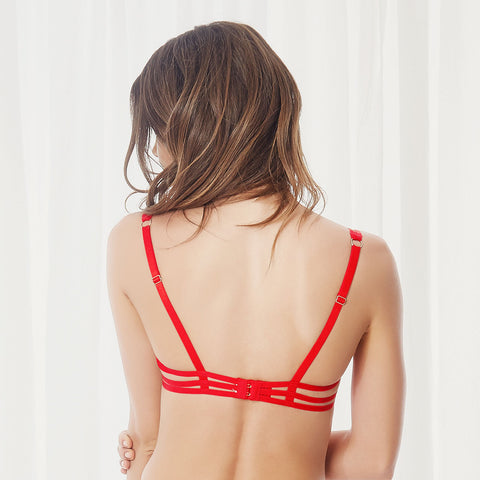 Julienne Bra Red