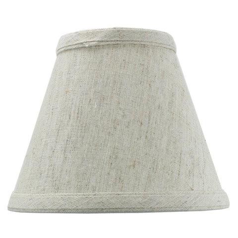 0-002004>Textured Oatmeal Chandelier Lamp Shade -