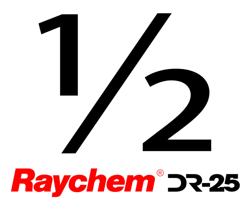 "Tubing - UK Raychem DR-25-1/2"" (By The Foot)"