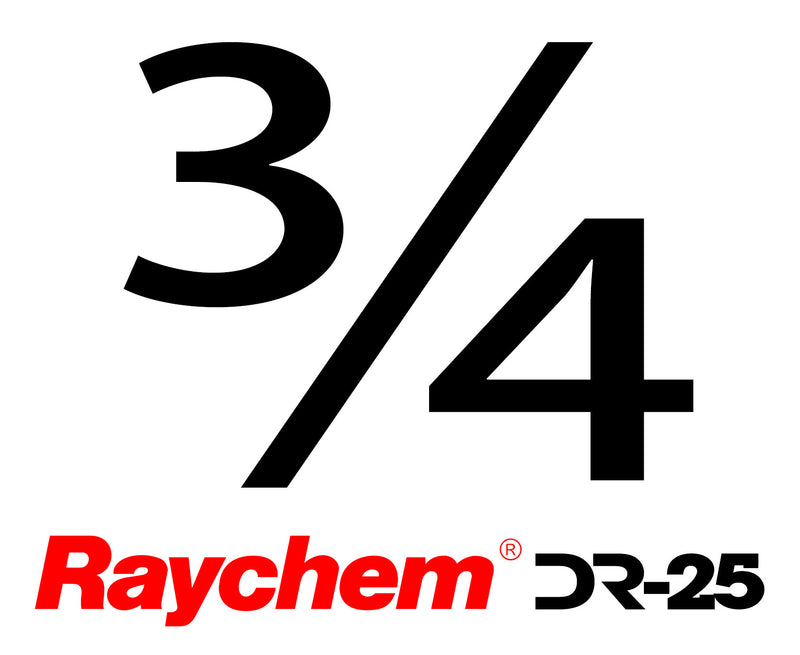"Tubing - UK Raychem DR-25-3/4"" (By The Foot)"