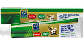 Manuka Honey & Propolis Toothpaste with Manuka Oil