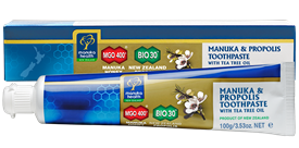 Manuka Honey & Propolis Toothpaste with Tea Tree Oil