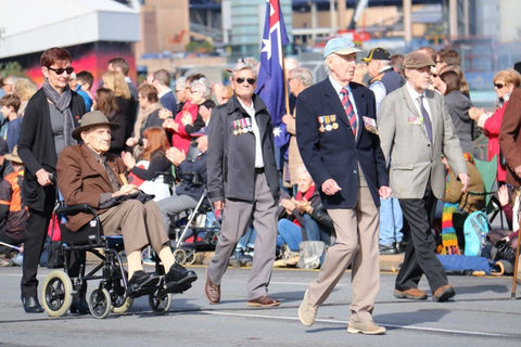 Anzac Day March Adelaide 2016