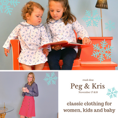 Peg & Kris Trunk Show November 17&18