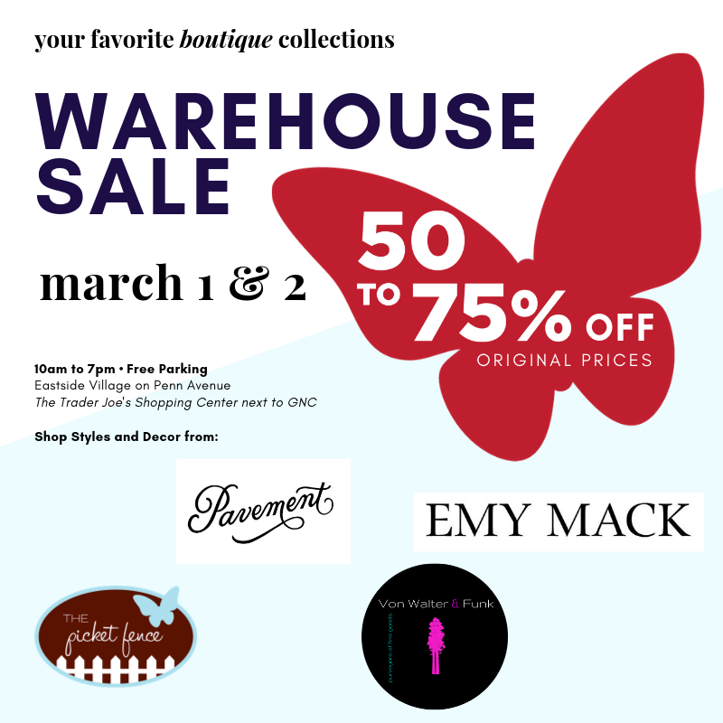 Boutique Warehouse SALE