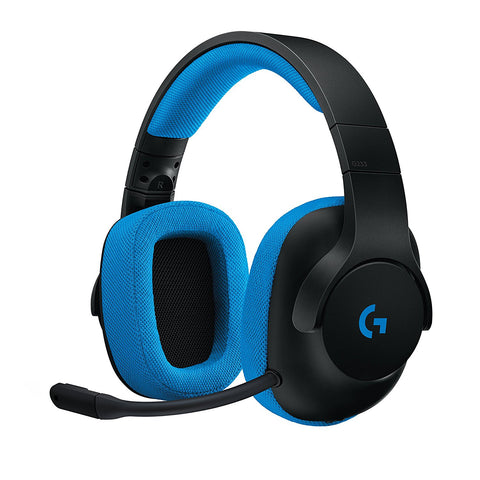 Logitech G233 Wired Gaming Headset for PC, Xbox One, PS4, Switch, Mobile