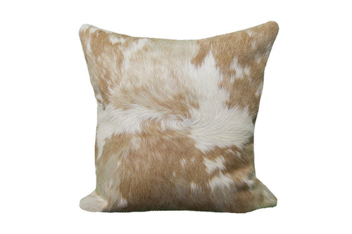 Blonde Cowhide Large Pillow Case - Rodeo Cowhide Rugs