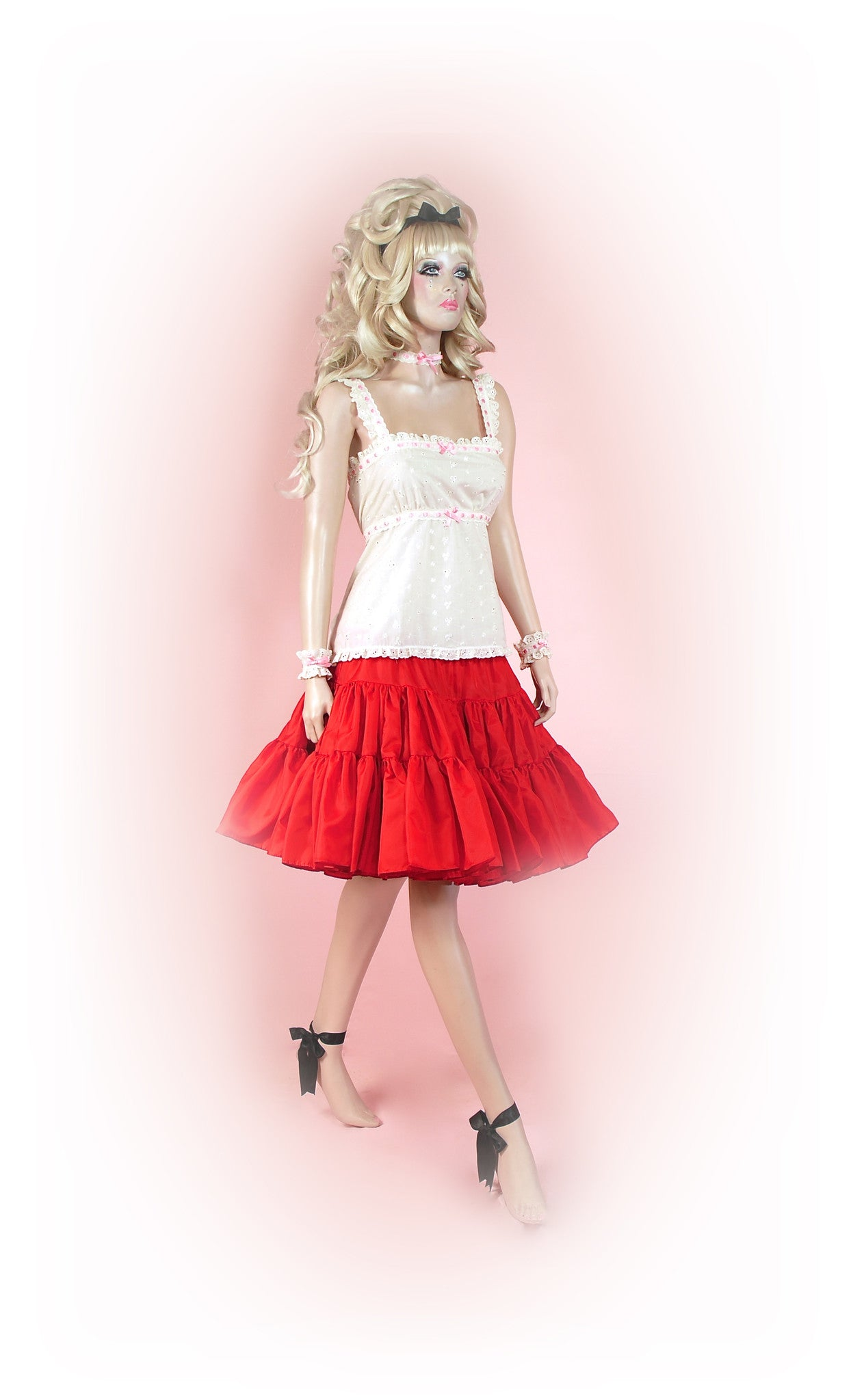 Raunchy Red<br>Tutu Knee