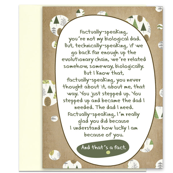 The Facts of Life - Card for Step-Father