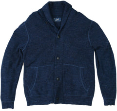 Cabana Shawl Cardigan - Navy-Grayers