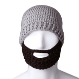 Free Fisher Unisex Knit Beanie Stubble Beard