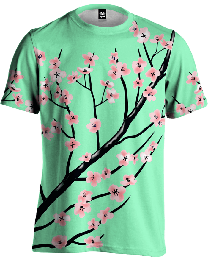 All Over Print Tee - Full Bloom Tee