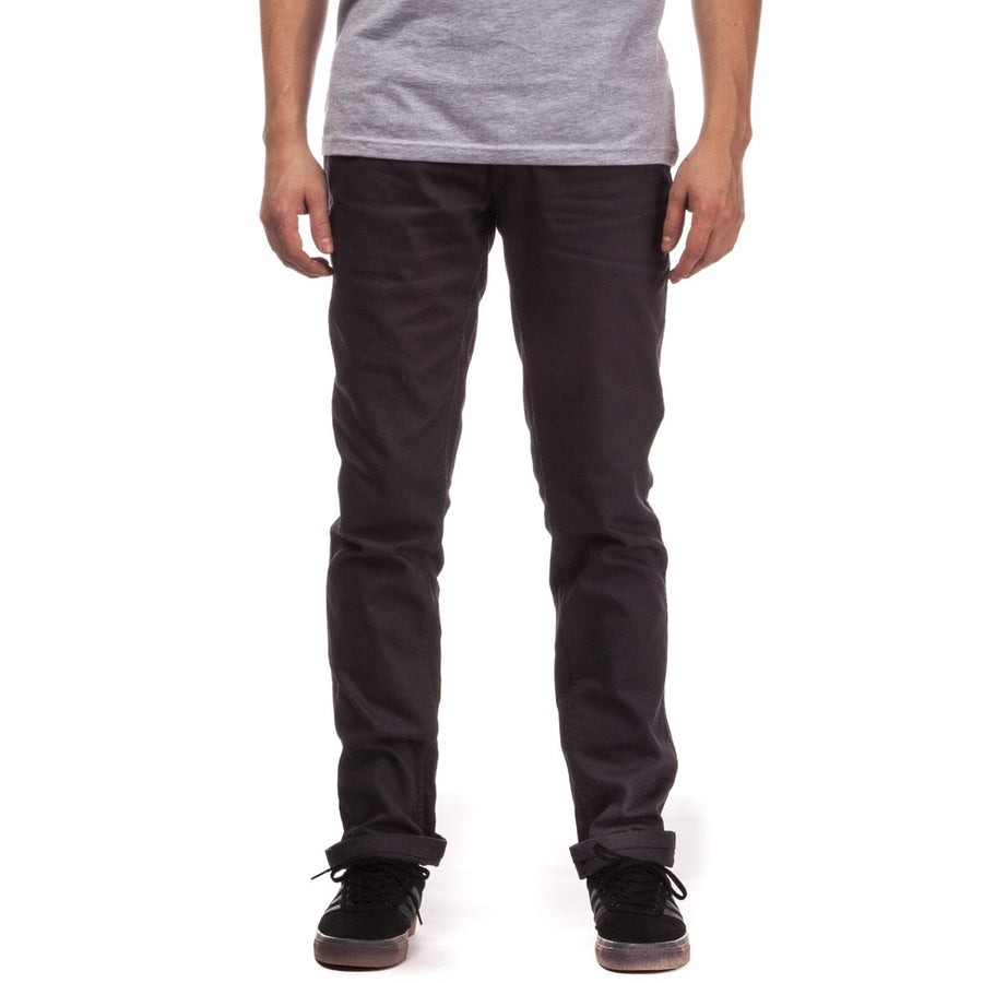 BRIXTON RESERVE 5-PKT PANT BLACK - The Drive