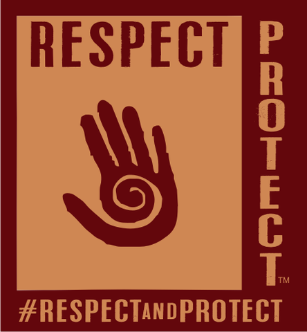 Respect and Protect Hand Magnet