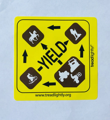 Yield Sticker