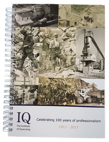 Institute of Quarrying Centenary Notebook