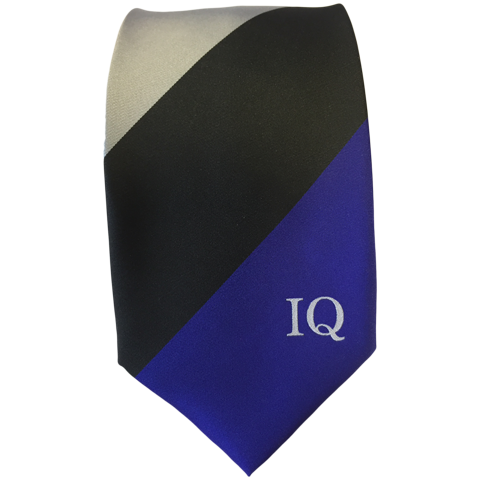 Institute of Quarrying Tie for 2017 with Institute of Quarrying Logo