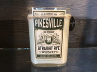 Straight Rye Whiskey Liquor Candle- Unplug - Apples and Maple Bourbon