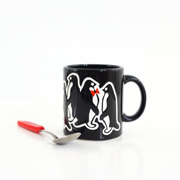 SOLD - Vintage Waechtersbach Penguins Mug