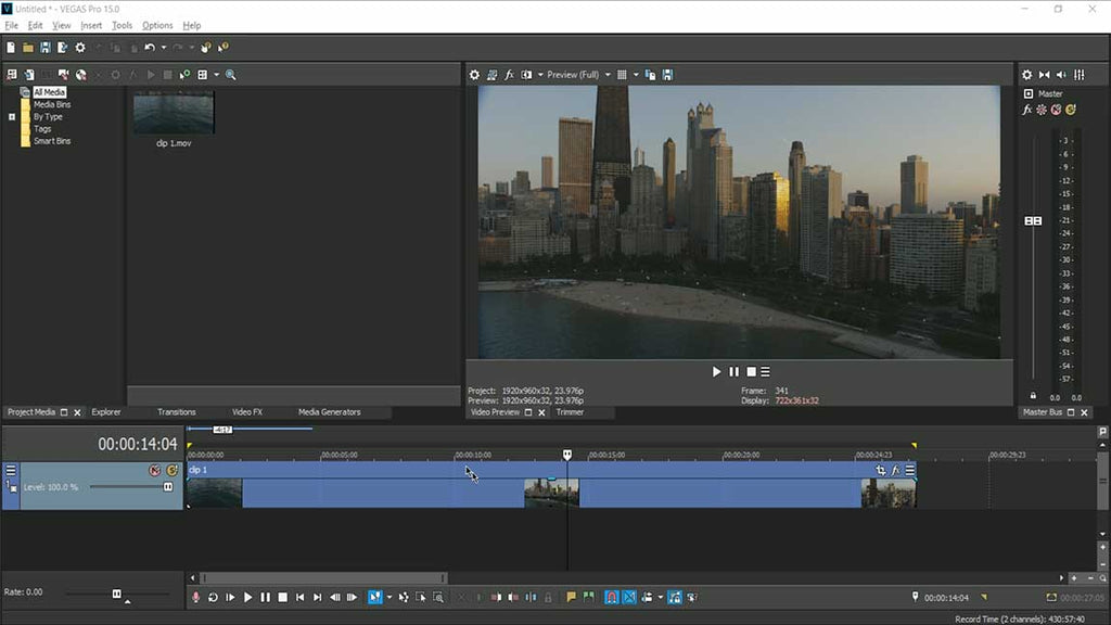 Using LUTs in Sony Vegas 15+