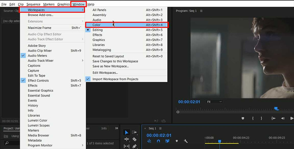 Using LUTs in Adobe Premiere CC
