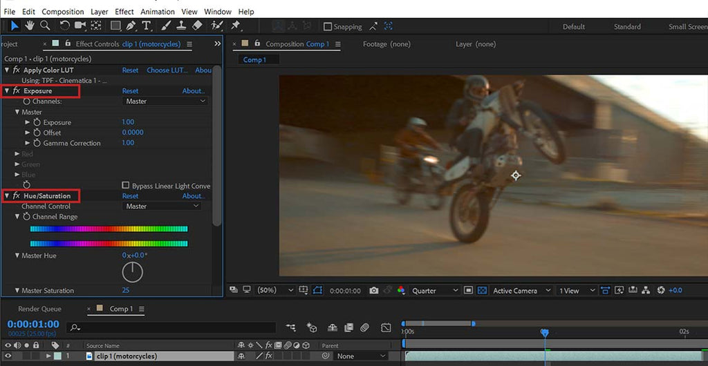 Using LUTs in Adobe After Effects CS5+